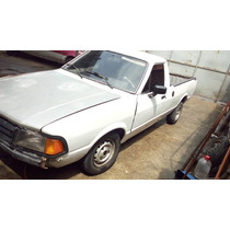 Ford Pampa Gl 1.6/ 1.8 1989 Alcool E Gnv
