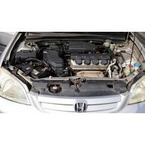 Honda Civic 2001 2002 1.7 Mec. Prata Completo Ar. Dir. Trio