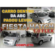 Fiesta 1.0 Flex Completo Ano 2009 - Financio Sem Burocracia