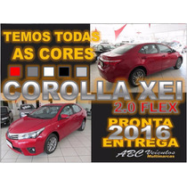 Corolla Xei 2.0 Automatico - 0km -16/16 - A Faturar Pf E Pj