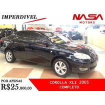 Toyota Corolla Xli 2005 Completo Nasa Motors