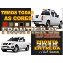 Frontier 2.5 Sl 4x4 Diesel Ano 2016 - Pronta Entrega