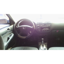 Honda Civic Lx 2003 Preto 4 Portas Completo