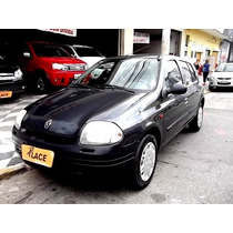 Renault Clio 1.0 Rl 16v Gasolina Manual 4p - 2002