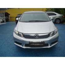 Honda Civic 1.8 Lxs Mecânico Prata 2012