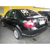 Fiesta Sedan 1.6 8v Flex 2008 Completo