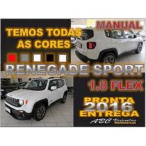 Jeep Renegade Sport 1.8 Flex Manual - 2016 - Pronta Entrega