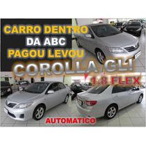 Corolla Gli 1.8 Flex Automatico Ano 2013 - Financio Facil