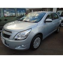 Chevrolet Cobalt 1.4 8v Flexpower 4p 2012 2013 Prata