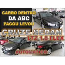 Cruze Sedan Ltz 1.8 Flex Ano 2014 - Financio Sem Burocracia