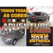 Strada Adventure Cabine Dupla 3 Portas - 2016 Pronta Entrega