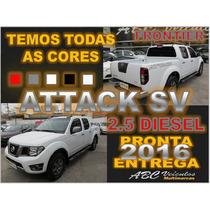 Frontier 2.5 Sv Attack 4x4 - 2016 - Zero Km - Pronta Entrega