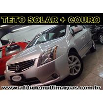 Sentra Sl 2011 Automatico Prata 2.0(flex) Top Teto Solar