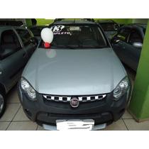 Fiat Strada Adventure Cab,est,2013 Prata Tr0c0 E Financi0