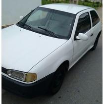 Volkswagen 1.0 Ano 96 3p Gas Branco