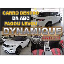 Evoque Dynamique - Ano 2013 - Com Teto E Interior Vermelho