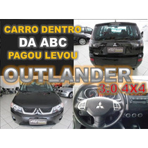 Mitsubishi Outlander 3.0 4x4 V6 Automática Ano 2008 Financio