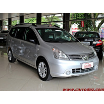 Nissan Grand Livina 1.8 S Flex 4p Manual 2013 - Carro Dez