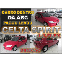 Celta Spirit 2008 Com Direção Ano 2008 Financiamento Facil