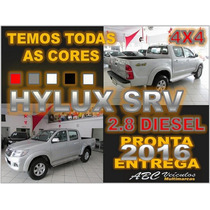Hilux 2.8 Srv 4x4 Cd Diesel Automático Ano 2016 - 0 Km