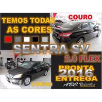 Novo Sentra 2.0 Sv - Automatico - 2015/ 2016 - Zero Km