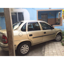 Corsa Sedan Spirit 1.0 - 2008 - Completo - Flex