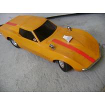 Brinquedo Antigo Carro Corvette 1968 Chevrolet Eldon