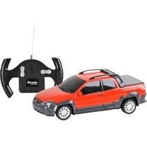 Fiat Strada Adventure Controle Remoto Vermelho 1:24 Cks