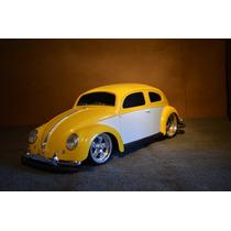 Carro De Controle Remoto Volkswagen Beetle Fusca 1951 Maisto