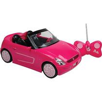 Carro Da Barbie Rádio Controle 7 Funções Gratis Boneca