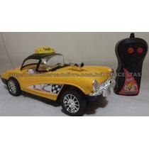 Único No Ml!carro Controle Remoto Taxi 3 Funções Luz Amarelo