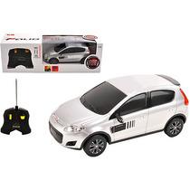 Fiat Novo Palio Controle Remoto 1:18 Cks Prata