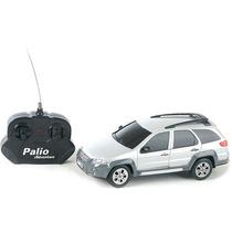 Fiat Palio Adventure Controle Remoto 1:18 Cks Prata