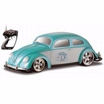 Volkswagen Fusca Verde Rc 1:10 / Maisto - 81041