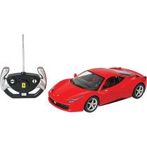 Rastar 1:14 Controle Remoto - Ferrari 458 Itália - Vermelho