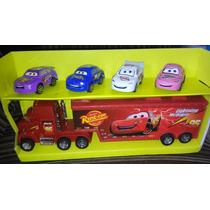 Carreta Do Mcqueen- Carros 2 + 4 Carros