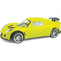 Carro Controle Remoto Supremus Bolt Amarelo E Preto Estrela