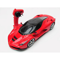 Carrinho Controle Remoto Ferrari Laferrari 7 Funções 1/12