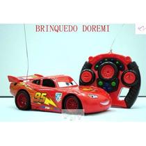 Carro De Controle - Relâmpago Mcqueen Disney Com Controle