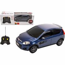 Carro - Controle Remoto - Fiat Palio Azul - 1:18 - Cks