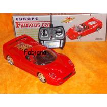 Carrinho Ferrari Luxo Controle Remoto-dois Modos De Uso