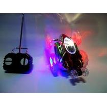 Carrinho De Controle Remoto Maluco Gira 360º Com Luzes