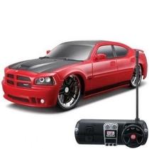 Dodge Charger Srt8 Controle Remoto 1:24 Maisto