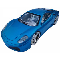 Carrinho Ferrari Mod: F 430 Controle Com Recarregador Mox