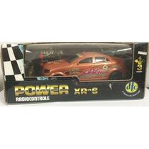 Carrinho Power Xr-s - Carro R/c Laranja - Dtc