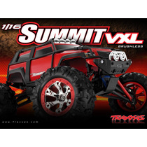 Automodelo Brushl Traxxas Summit Vxl 1/16 Brushless 4wd 7207