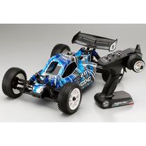 Carro Kyosho Buggy Dbx 2.0 Nitro Blue 2.4ghz Completo
