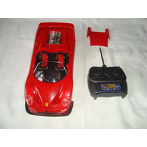 Carrinho Controle Remoto Ferrari