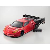 Carro Kyosho Nitro Inferno Gt2 Ferrari 458 Itália 1/8 2.4ghz