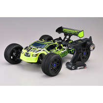 Automodelo Kyosho Truggy Inferno Neo St Green 1/8 Completo